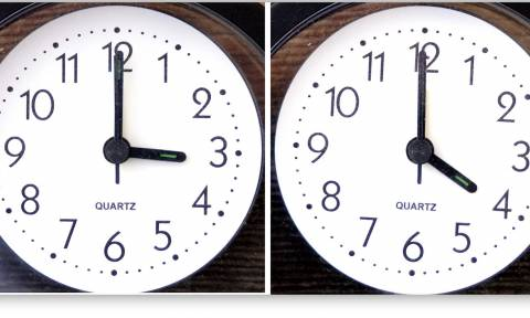 Θερινή ώρα 2016: Πότε θα γυρίσουμε τα ρολόγια μας μια ώρα μπροστά;