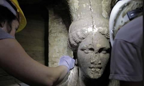 Αμφίπολη: Ο Μέγας Αλέξανδρος απεικονίζεται σε ανάγλυφο
