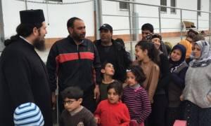 Η Μητρόπολη Λάρισας κοντά στους πρόσφυγες