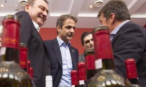 Μητσοτάκης: Η Νέα Δημοκρατία δεσμεύεται να καταργήσει τον ειδικό φόρο κατανάλωσης στο κρασί