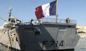 Γαλλικό πολεμικό πλοίο από την Τουλόν στο Αιγαίο