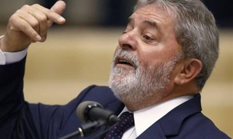 Ο Λούλα ζητά υποστήριξη -  Κάλεσε τους οπαδούς του να βγουν στους δρόμους