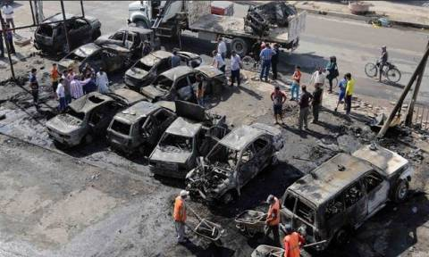 Ιράκ: Βυτιοφόρο σκόρπισε τον θάνατο  - Τουλάχιστον 60 νεκροί και τραυματίες (photo)
