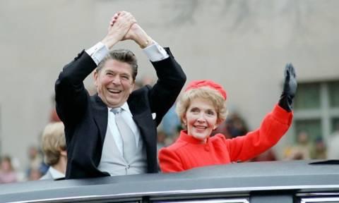 Απεβίωσε η πρώην πρώτη κυρία των ΗΠΑ Νάνσι Ρίγκαν (vid)