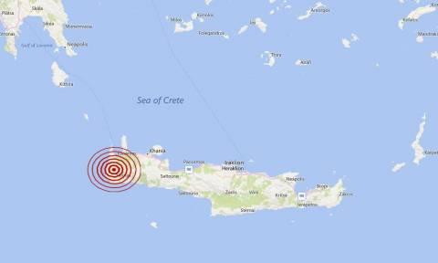 Σεισμός 4 Ρίχτερ κοντά στα Χανιά (pics)