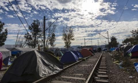 Ειδομένη: Προσφυγόπουλο χτυπήθηκε από ρεύμα στη σιδηροδρομική γραμμή