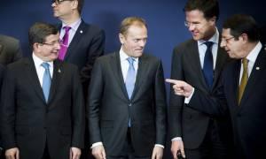 Ολοκληρώθηκε η Σύνοδος Κορυφής της ΕΕ με την Τουρκία