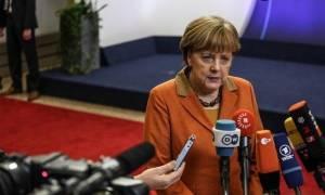 Σύνοδος Κορυφής - Μέρκελ: Πρέπει να βοηθήσουμε την Ελλάδα να προστατεύσει τα εξωτερικά της σύνορα
