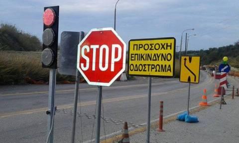Κλείνει για ένα μήνα τμήμα της εθνικής Ηρακλείου - Αγ. Νικολάου