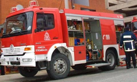 Ζημιές από πυρκαγιά σε μονοκατοικία στο Ηράκλειο