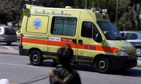Ηράκλειο: Γλίτωσε από θαύμα σε εργατικό ατύχημα