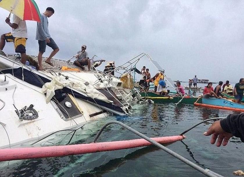 ΠΡΟΣΟΧΗ ΣΚΛΗΡΕΣ ΕΙΚΟΝΕΣ: Ανέβηκε στο ακυβέρνητο σκάφος κι αντίκρισε σορό - μούμια ιστιοπλόου