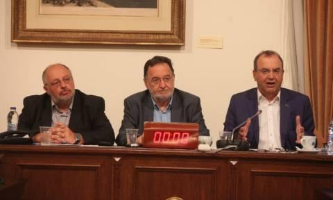 Λαφαζάνης και Στρατούλης κατέλαβαν τα γραφεία της ΕΕ στην Αθήνα
