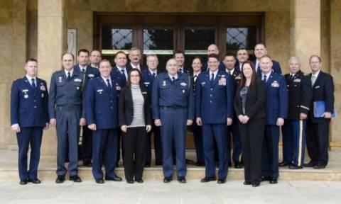 Επίσκεψη του Air War College στο ΓΕΑ (pics)