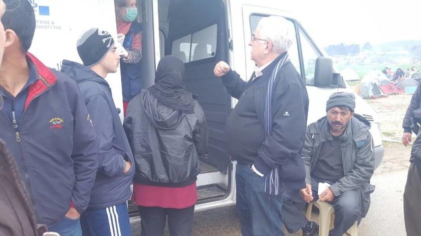Το ΚΕΕΛΠΝΟ στην Ειδομένη – Αναπνευστικά κυρίως τα προβλήματα των προσφύγων