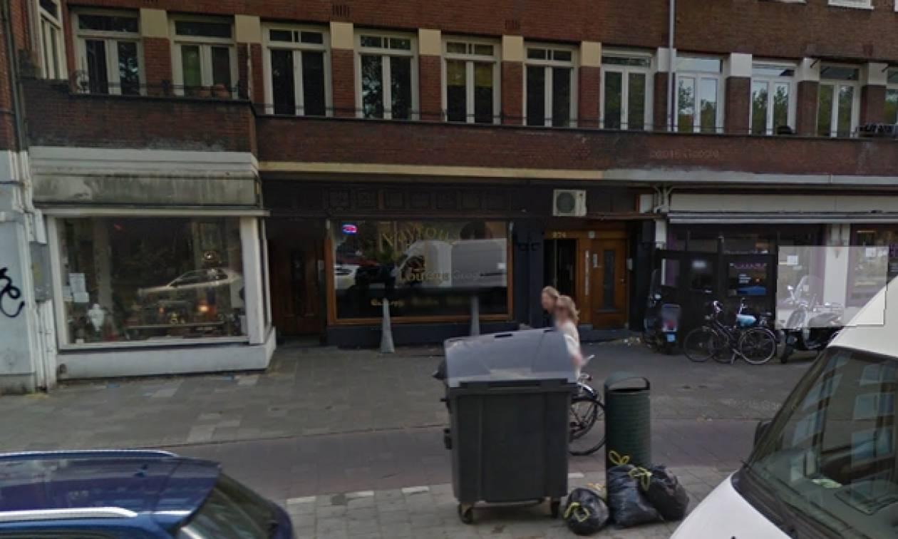 Φρίκη: Βρέθηκε κομμένο κεφάλι έξω από καφέ στο Άμστερνταμ