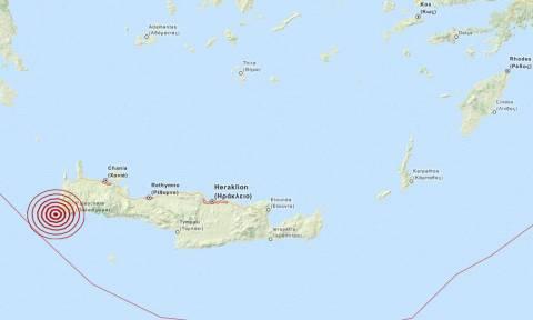 Σεισμός 3,6 Ρίχτερ δυτικά της Παλαιόχωρας