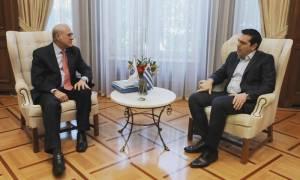 Γκουρία σε Τσίπρα: Χρειάζεται πολύ δουλειά για να κλείσει το ελληνικό πρόγραμμα (video)