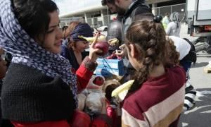 Συνεργασία Ελληνικού Ερυθρού Σταυρού, ΙΣΑ και «Όλοι μαζί μπορούμε» για τους πρόσφυγες