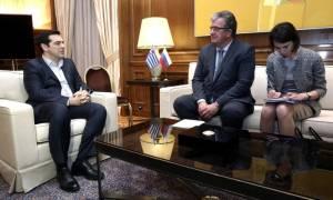 Τι συζήτησε ο Τσίπρας με τον αντιπρόεδρο της Ρωσικής Ομοσπονδίας