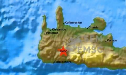 Σεισμός 4,1 Ρίχτερ ταρακούνησε την Κρήτη