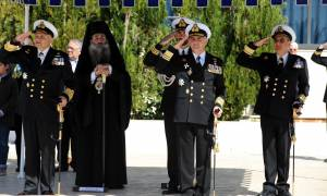 Τελετή Παράδoσης Παραλαβής Διοικητού Σχολής Ναυτικών Δοκίμων (pics)