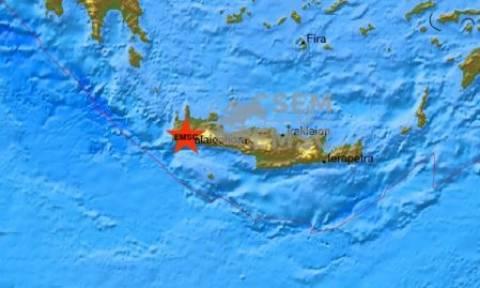 Νέος ισχυρός σεισμός αναστάτωσε την Κρήτη - 4,7 Ρίχτερ ξεσήκωσαν το νομό Χανίων