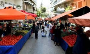 Καθαρά Δευτέρα: Kανονικά θα λειτουργήσουν οι λαϊκές αγορές