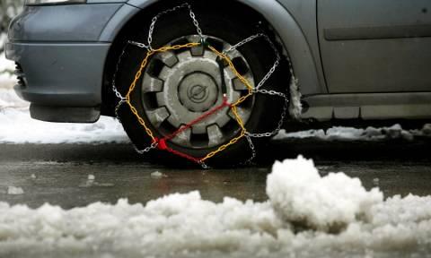 Δυτ. Μακεδονία: Προβλήματα λόγω κακοκαιρίας στο οδικό δίκτυο - Πού απαιτούνται αλυσίδες