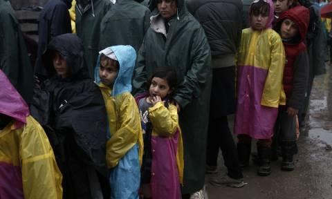 Ειδομένη ώρα μηδέν: Αντιμέτωποι με τις λάσπες και τις αρρώστιες οι πρόσφυγες