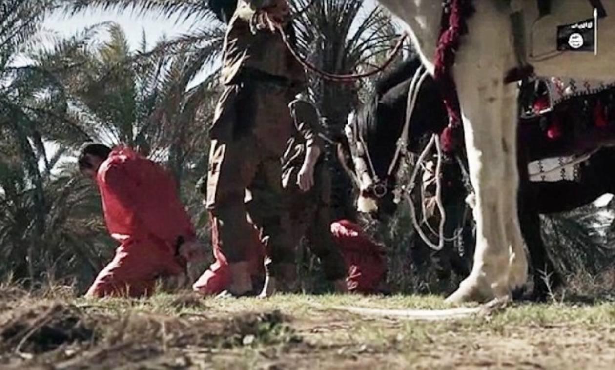 Νέο φρικιαστικό βίντεο από το ISIS – Αποκεφάλισαν τρεις «κατασκόπους»