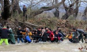 Επιστρέφουν στην Ειδομένη οι πρόσφυγες που είχαν φτάσει στο χωριό Χαμηλό
