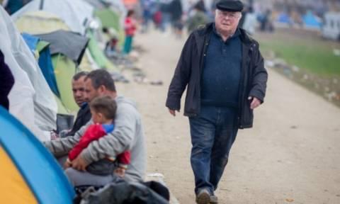 Γερμανός πολιτικός πίσω από το φυλλάδιο της Ειδομένης;