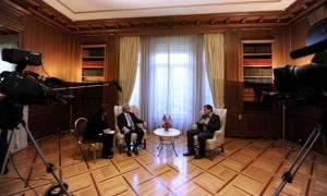 Κοινές δηλώσεις Τσίπρα - Σαρκισιάν: Στήριξη στη συμφωνία κατάπαυσης του πυρός για τη Συρία