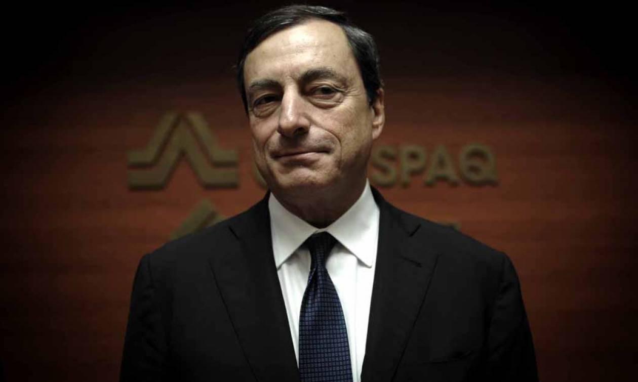 Ντράγκι: Οι περιορισμοί στην κίνηση κεφαλαίων αποτελούν θέμα της Ελλάδας