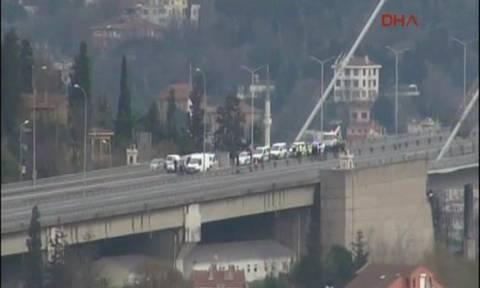 Συναγερμός στην Τουρκία: Έκλεισε η γέφυρα του Βοσπόρου λόγω ύποπτου οχήματος