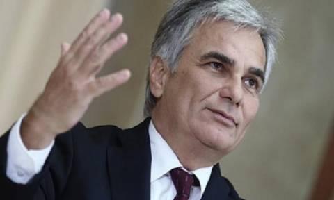 Ο Φάιμαν ζητά από τη Μέρκελ να στηρίξει το κλείσιμο της Διαδρομής των Βαλκανίων