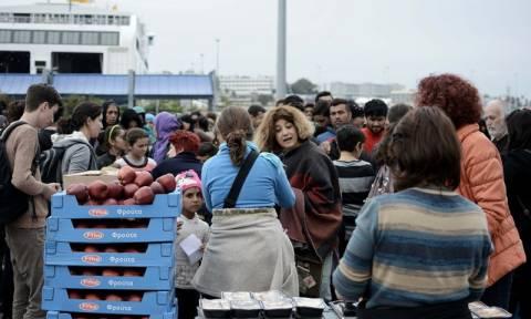 Θεσσαλονίκη: 400 πρόσφυγες θα φιλοξενηθούν σε χώρους του λιμανιού