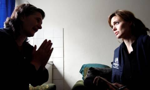 Στην Ειδομένη σήμερα Τετάρτη, η Αντζελίνα Τζολί