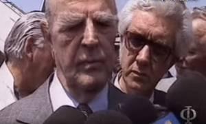 Ρίγη συγκίνησης: Όταν ο Καραμανλής βούρκωνε, δηλώνοντας πως «η Μακεδονία είναι ελληνική» (vid)