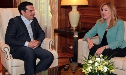 Μαζί Τσίπρας - Γεννηματά στη σύνοδο των Ευρωπαίων σοσιαλιστών