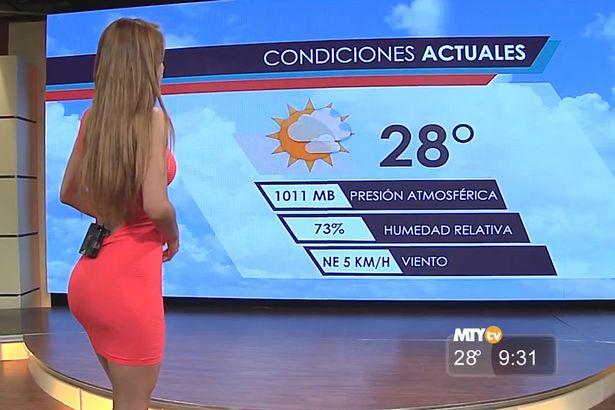 Weather girl Yanet Garcia2