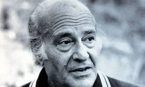 Σαν σήμερα το 1996 πέθανε ο βραβευμένος με Νόμπελ συγγραφέας Οδυσσέας Ελύτης