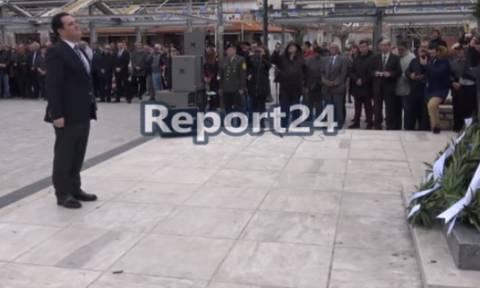 Αποδοκιμασίες και ένταση στην Αρεόπολη κατά Κoυρουμπλή και Γεωργιάδη (vids)