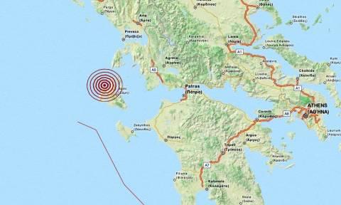 Σεισμός 3,3 Ρίχτερ στην Κεφαλονιά (pic)