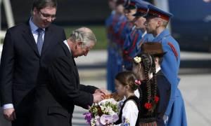 Σερβία: Τον ενθουσιασμό του από την επίσκεψή του στη χώρα εξέφρασε ο πρίγκιπας Κάρολος