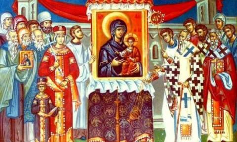 Τί γιορτάζουμε την Κυριακή της Ορθοδοξίας;