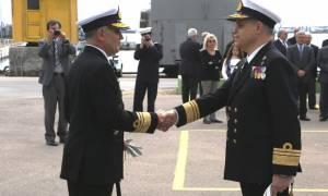 Τελετή Παράδoσης- Παραλαβής καθηκόντων Διοικητού Διοίκησης Διοικητικής Μέριμνας Ναυτικού (pics)