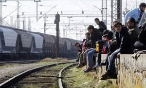 Διαμαρτυρία προσφύγων στην Ειδομένη