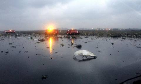 Συντριβή αεροσκάφους Ρωσία: Οι πρώτες φωτογραφίες από το σημείο της τραγωδίας